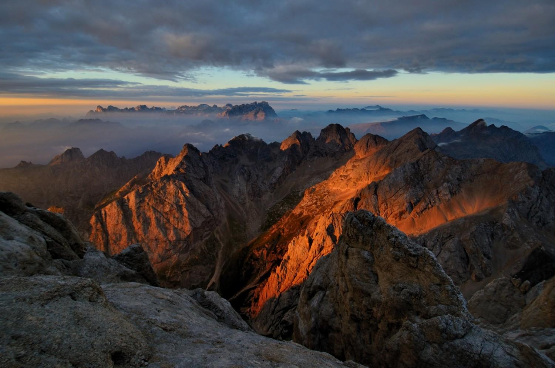 »Der Morgen danach« | Dolomiten / Marmolada | 2012