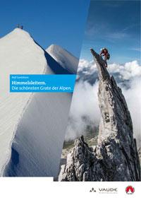Plakat zum Vortrag Himmelsleitern - Große Grate der Alpen